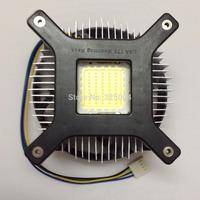 High Quality 50w 100w high power led heat sink DC12V aluminum high power led radiator led fan 1pcs Free Shipping