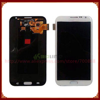 Grey Or White Color For Samsung Galaxy Note II 2 N7100 LCD Screen Display With Touch Screen Digiitzer Assembly Free Shipping