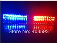 Super Bright car S2 16W Fe  deral Si  gnal S2 Warning Emergency Strobe Police Flashing Iight  imidator Dash  blinking WHITE