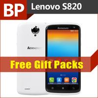 Original Lenovo S820 4.7 Inch 1280x720 MTK6589 Quad Core Mobile Phone Android 4.2 13mp Back Cam Ultra Slim Russian GPS BT