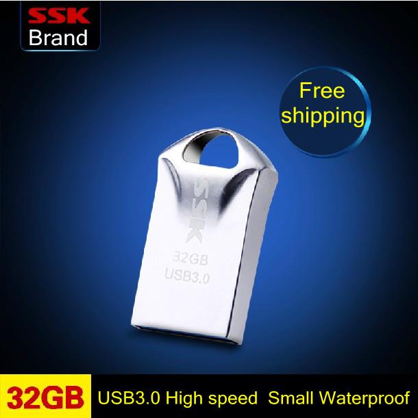 Ssk SFD230 Kumgang 100% 32GB USB 3.0 small mini usb flash drives pen drive high speed usb flash drive waterproof Free shipping(China (Mainland))