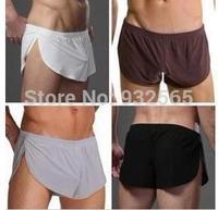 New Arrival 2014!!! comfortable Sexy Men's Boxer shorts U convex pouch Underwear mens underwear gay