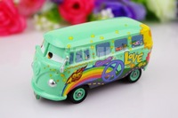 Free shipping,Fillmore,Cute van,100% Original Pixar Cars 2 Movies alloy model cars,Children's toy cars,CAR13
