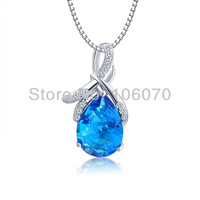 Freeshipping New 2013 Sale Silver jewelry Luxury Fashion Women 925 Silver necklaces & pendants Romanticsterling silver jewelry