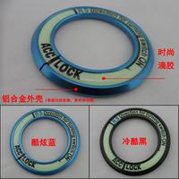 KIA luminous Ignition Switch keyhole ring Sorento K2 K3 K5   4 color  aluminum alloy cover decor ring car stickers shipping free