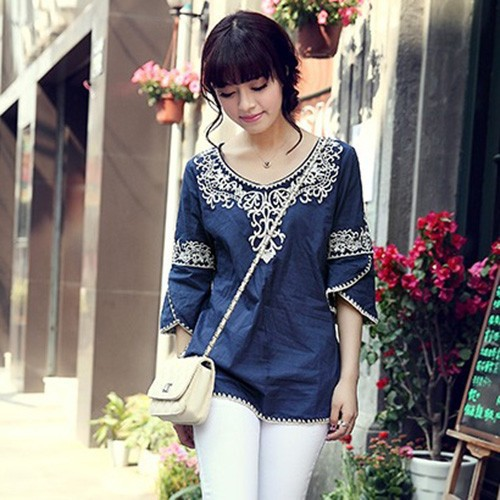 Boho Women's Clothing Hippie Boho Blouse Womens
