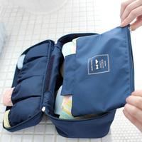 New 2014 Underwear Storage Bag Bras Bags Panties Socks Storage Case Waterproof Travel Portable Storage Box & Bra Case 020