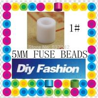 500 pcs WHITE 5 mm Hama Beads/ Perler Beads *GREAT KID FUN Diy Educational Toys Craft