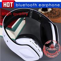 SKY-001 Handsfree wireless headset TF card bluetooth earphone colorful mobile computer music micro headphone free shipping