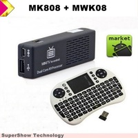 DualCore Android 4.2 Mini PC MK808 Memory 1GB Flash 8GB and 2.4G Airmouse keyboard Touchpad