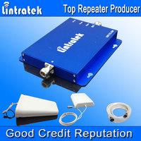 Lintratek GSM 900 2100 Repeater Mobile Signaling GSM UMTS2100 Amplifier GSM 3G Dual Band Signal Booster 1 set