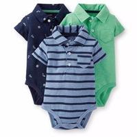 3pcs/lot, Original Oshkosh & Carter's Baby Boys Elephant Model Bodysuit, Carters Baby Bodysuit, Free Shipping In Stock