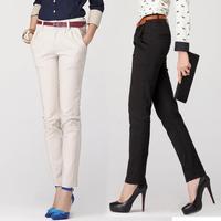 High Quality Fashion Pants Women Office Lady Suit Pants Long Trousers