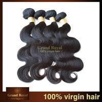 Brazilian virgin human hair extension 9pcs lot rosa hair products body wave, virgin hair extension free shipping