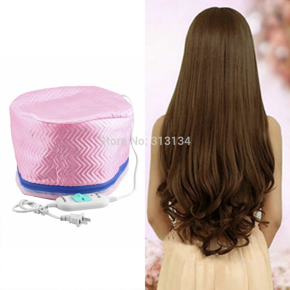 1pc Electric hair trimmer Electric Hair Thermal Treatment Beauty Steamer SPA Nourishing Hair Care Cap(China (Mainland))