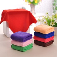 Free Shipping 10pcs/lot 30cmx30cm Microfiber Car Cleaning Towel Microfibre Detailing Cloth Hand Towel