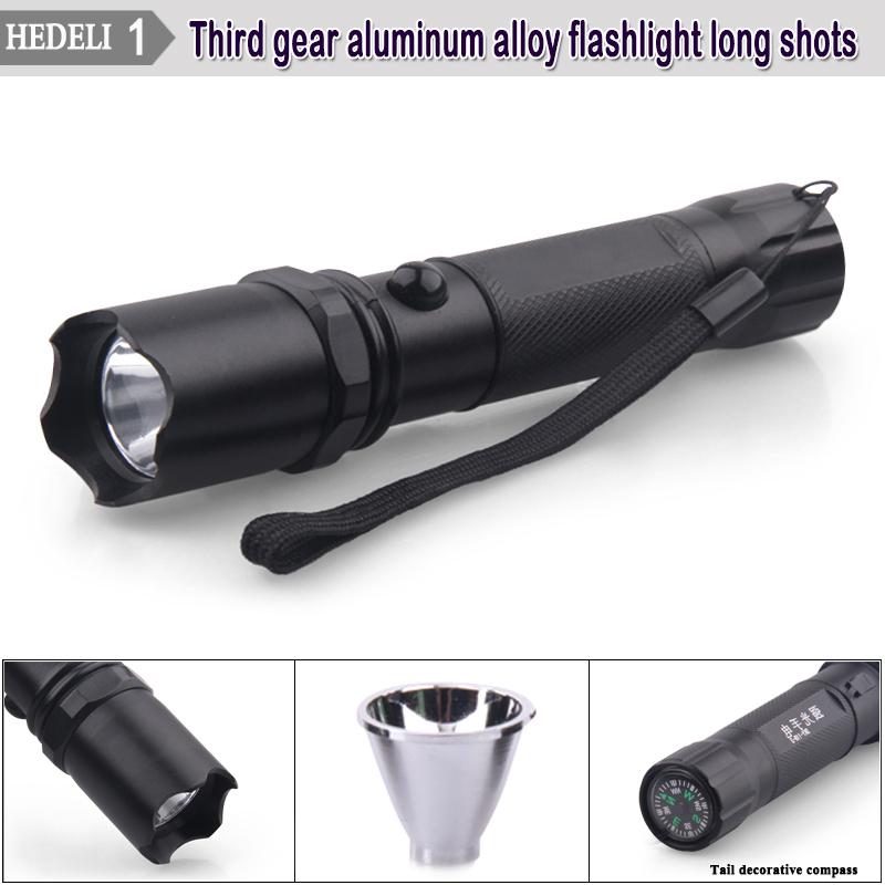Promotion Mini cree q5 Lumens portable led Flashlight lantern Lanterna Camping Light lamp Rechargeable Battery torch HW302(China (Mainland))
