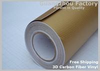 3D Carbon Fiber Vinyl Wrap Car Wrapping Foil,Many Color Option free shipping Carbon Fiber Car Decoration Sticker,
