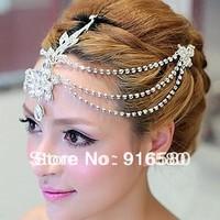 IN STOCK Big Sale Latest  Luxury Rhinestone Tiara Wedding Tiara Bridal Forehead Tiara