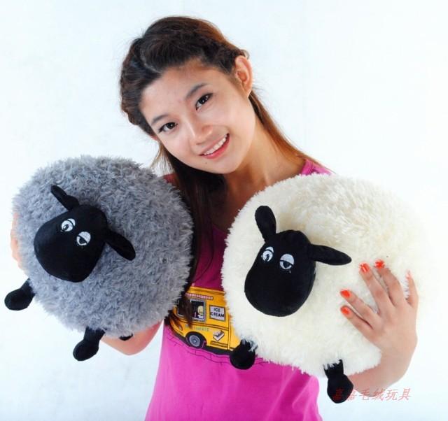 40cm Shaun the sheep plush lamb toy Timmy large soft toys sean sheep wedding gift Christmas toys Free shipping(China (Mainland))
