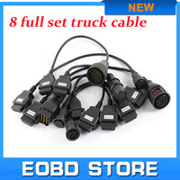 Auto OBD2 Diagnostic TCS Pro Cables Trucks Full Sets With 8 Cables For Trucks Better Quality And Lower Price Free Warranty