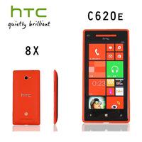 Original  HTC Windows Phone  8X C620e GPS WIFI 4.3''TouchScreen 8MP camera 16GB  Unlocked Cell Phone Fress Shipping  Refurbished