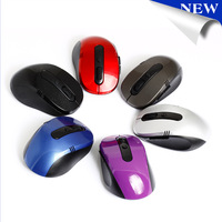 Free Shipping USB 2.4Ghz  Wireless Mouse and gaming mice 2.4G receiver computer accessories