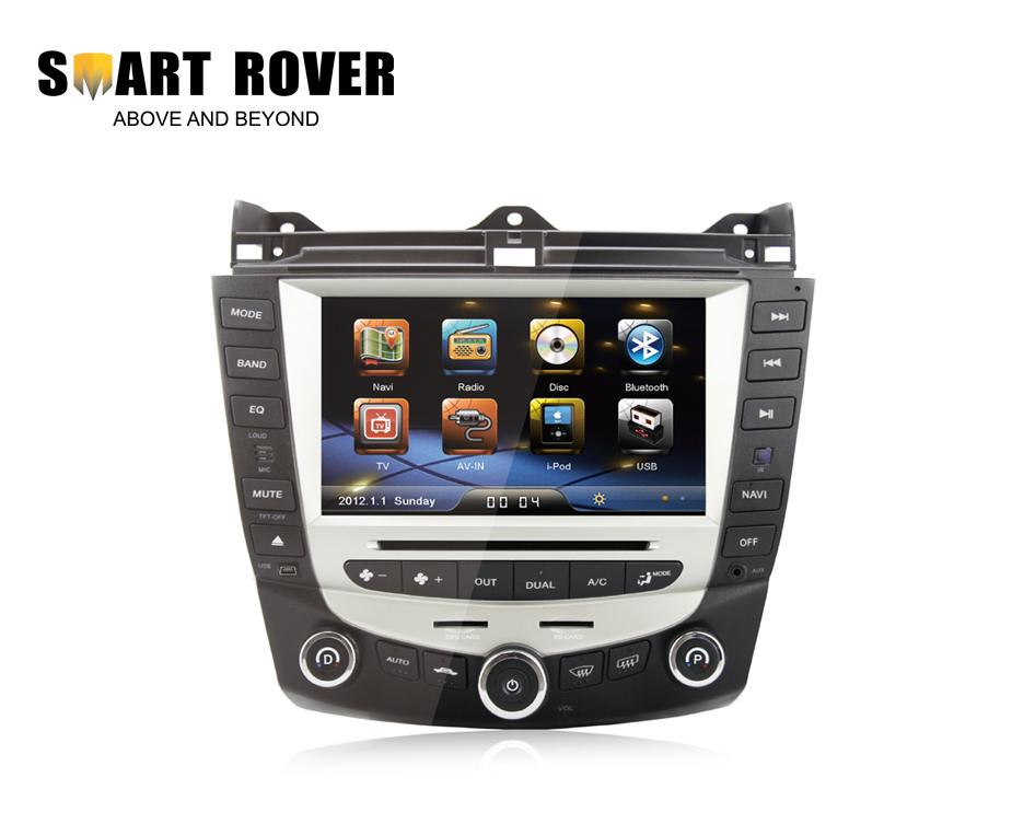 Car Stereo Sat Navi Headunit For Accord 7 2003 2004 2005 2006 2007 DVD GPS Navi Radio Bluetooth TV iPod Steering Wheel Control(China (Mainland))