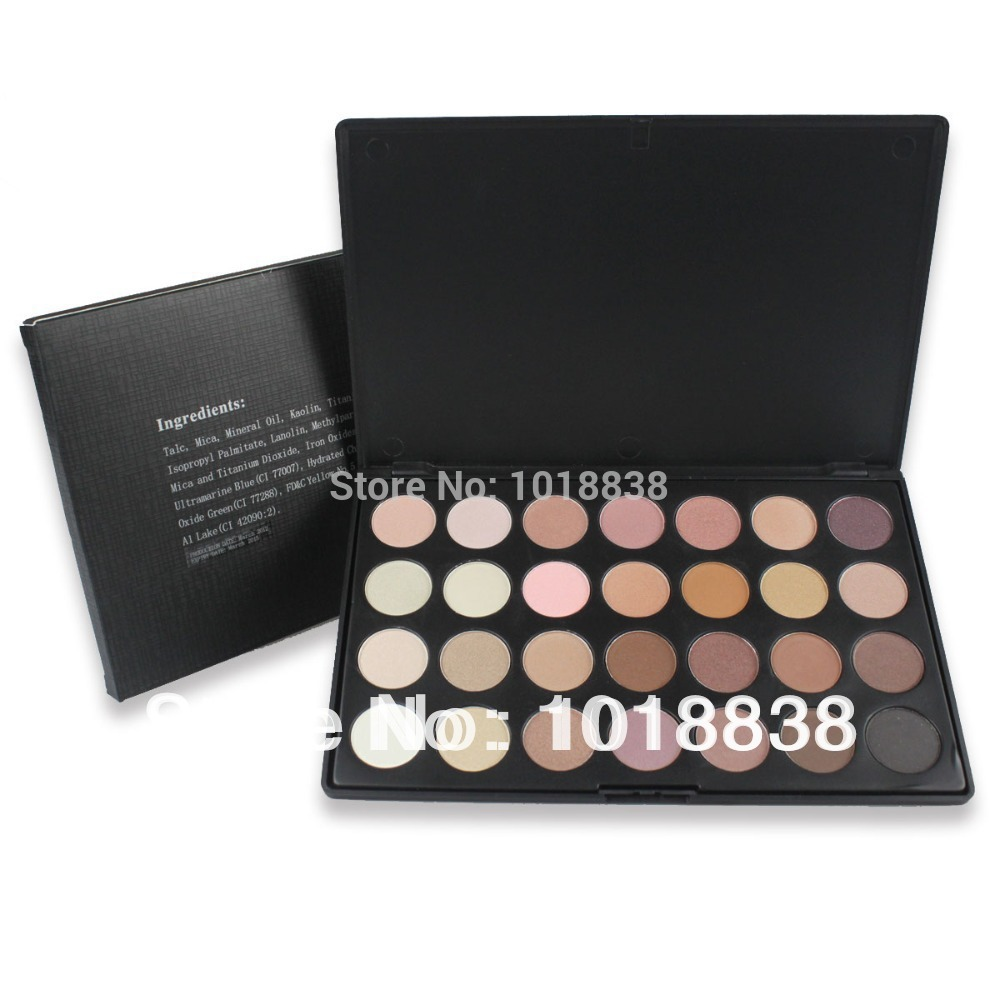 New 28 Color Professional Eye Shadow Neutral Nudes Palette