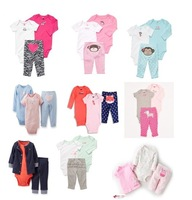 New Arrival,Retail Carter's Baby Boys Clothing Set, Baby Spring and Autumn Clothing Set,Freeshipping In Stock