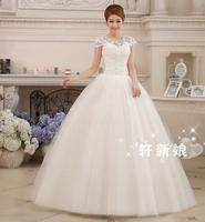 white formal dress 2014 autumn tube top plus size maternity wedding dress mm tube top vestido de novia vestido de noiva