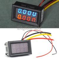 DC 0V-100V (10A) Dual LED Digital Voltmeter Ammeter Voltage AMP Power Meter R+B TK1212