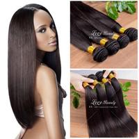 Top Quality Brazilian Virgin Hair 3 pcs 6A Brazilian Virgin Hair Straight Extension Wholesale Human Hair Weaves Free Shipping