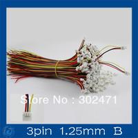 Mini. Micro 1.25mm T-1  3-Pin Connector w/.Wire x 10 sets.3pin(1.25mm)B
