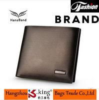 B.King 2014 Famous Brand Real Leather Bilfold Short Desigual Men Wallets High Quality Fashion Carteira Masculina , H006