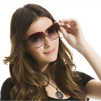ivory ladies sunglasses, Europe and the United States laday's sunglasses l uv protection glasses free shipping