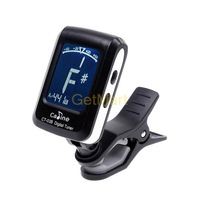 New LCD 10pcs/Lot Clip-on Electronic Digital Guitar Tuner CT-03B For Chromatic Bass Violin Ukulele Tuner