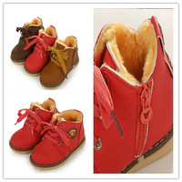 free shipping  children shoes child boots snow winter boots children boys and girls child cotton-padded shoes