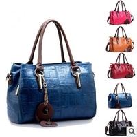 Bolsas New Arrival Bolsas Femininas Women Wax Leather Handbag Shoulder Bag 2014 New Pattern Messenger Brand Handbags Wholesale