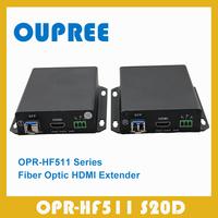 OPR-HF511 S20D Singlemode Optic Fiber  HDMI Extender transceiver for 1080P 60hz, HDMI Extender over Fiber Optic 20KM