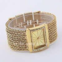 Free shipping!women bracelet  luxury brand watch+women dress watch+ women rhinestone  watch