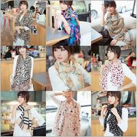 New Arrival Women Fashion Chiffon Autumn Summer Ice Silk Scarf Winter Warm Tassel Scarf Wrap Shawl Scarves 1PCS