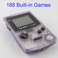 Kong Feng GB Boy Color Colour Handheld Game Console Game Player with Backlut 188 Built-in Games