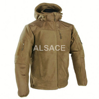 """""""MISTRAL"""" 2.0 Heavy Fleece Jacket Outdoor Military Tactical Jacket Reinforced shoulders and elbows"""