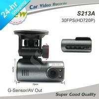 2014 newest Mini size HD Car Camera work with car DVD monitor Night Vision G-sensor Recorder Russia Car DVR