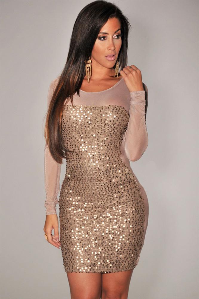 Plus Size Sequin Bodycon Dress Dress Vestido Plus Size