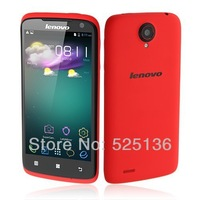 Original Lenovo S820 MTK6589 Quad Core 4.7'' IPS Screen 1GB RAM 4G ROM Android 4.2 GPS  Mobile Phone Russian Multi Language Red