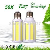50X  E27 / E14 / B22 9W 15W LED COB Corn Light Lamp Warm White Cold white Energy Saving 110-240V Free Shipping !!!