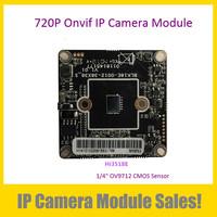 1.0MegaPixel CMOS ONVIF IP Camera Module IPG-60H10(38)PL-S,New OEM 720P IP Camera DIY Main Board  (System: Hi3518C)