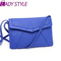 LADY STYLE 2015 hot new glossy shoulder bag fashion women handbag pu leather messenger bags  HL1428